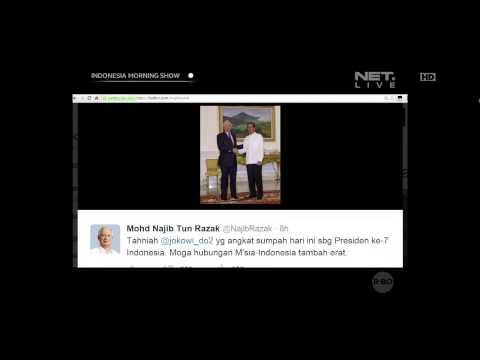 Tweet para pejabat internasional untuk Joko Widodo - IMS
