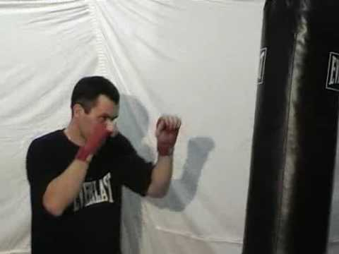 Muay Thai Kickboxing - Cross Elbow Training Image 1