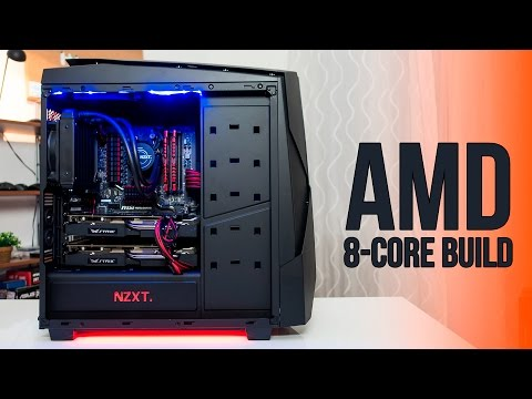 The $1200 AMD 8-Core, Crossfire Gaming Build