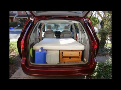 Convert your Minivan  into a Camper within few minutes / Part 1