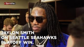 Jaylon Smith speaks on Cowboys playoff win over the Seattle Seahawks
