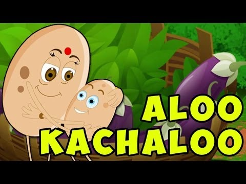 Aloo Kachaloo Hindi Poem - Hindi Nursery Rhymes For Children video