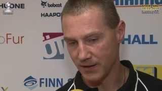 Tiikerit - Lakkapää ti 28.10.2014. Normunds Veinbergs