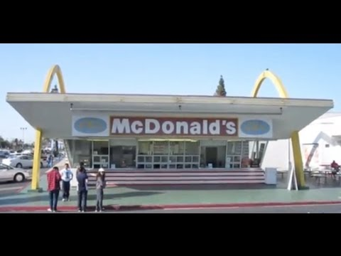 World s Oldest McDonald s Restaurant - Downey - California