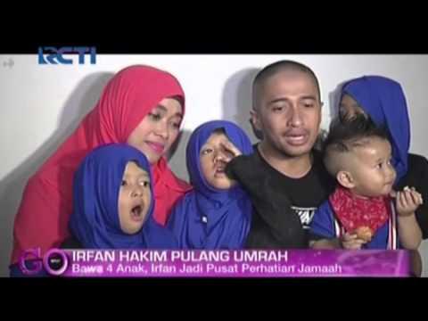 Harga ibadah umroh bersama keluarga irfan hakim dikejutkan