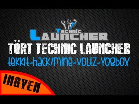 Tört Technic Launcher - Tekkit, Hack/Mine, YogBox, Voltz... futtatása