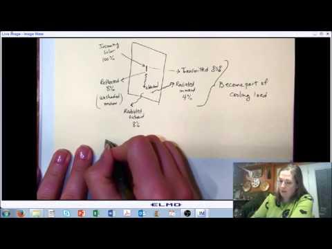 LECTURE 7 (PART E): Solar Radiation - Heat Gain