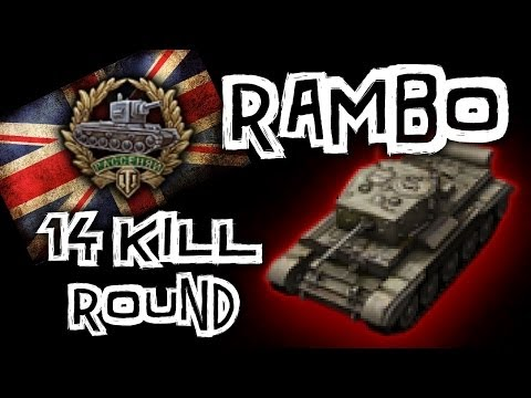 World Of Tanks || Rambo video