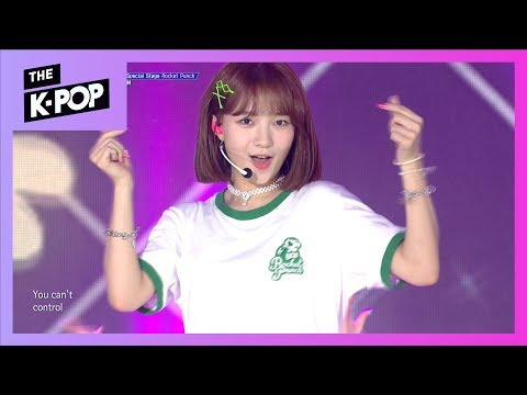[200th Stage] ROCKET PUNCH, Russian Roulette(Original song: Red Velvet) [THE SHOW 190820]