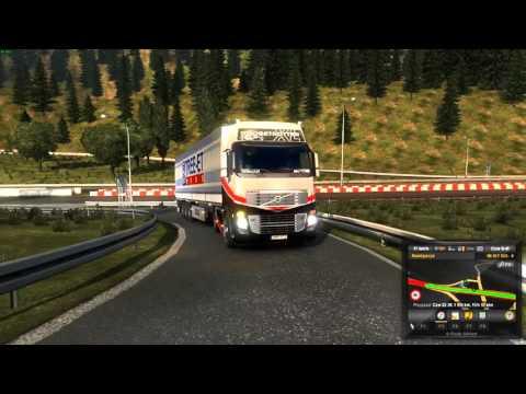 Euro Truck Simulator 2 Konwój Firmowy #3 2/4 W/MrBartass444 PrezesGaming