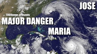 Download Hurricane Maria & Jose - MAJOR Trouble for East Coast & the Islands 3Gp Mp4