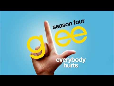 Everybody Hurts - Glee cast [HD FULL STUDIO]