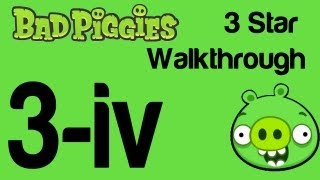Bad Piggies - Bonus Level 2-IV 3 Star Walkthrough When Pigs Fly
