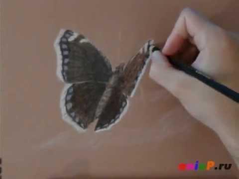 как рисовать угольным карандашом: