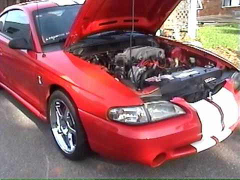 1995 Mustang Cobra - YouTube