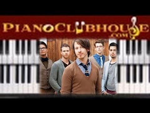 """♫ How to play """"WORN"""" by Tenth Avenue North (easy christian piano lesson tutorial)"""