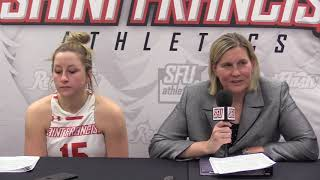SFU drops hard fought game to RMU