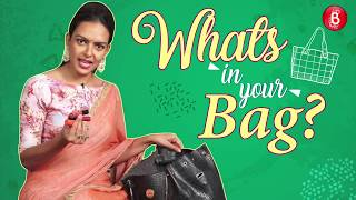 'What's In Your Bag': Bidita Bag's CRAZY Personal Possessions Revealed