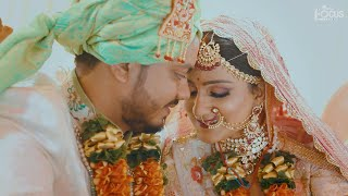 DIXIT + PRINCY | WEDDING TEASER | INSAF KHAN || THE FOCUS FILM