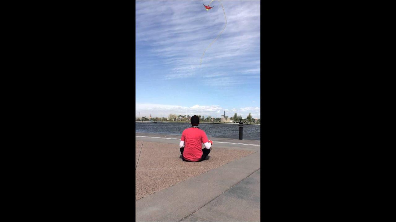 Stunt Kite at Mesa Riverview - YouTube