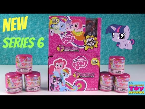 MLP Fashems NEW Series 6 My Little Pony Squishy Fun | PSToyReviews