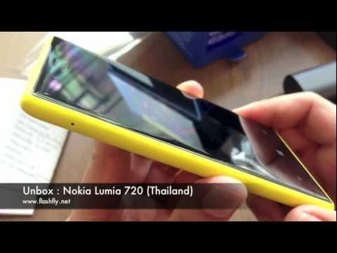 Nokia Lumia 720 : Unbox (Thailand)