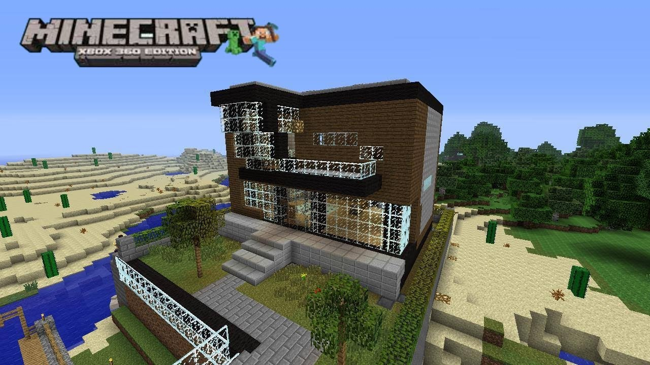 Casa minecraft xbox 360 5 casa minimalista 2 youtube for Casa minimalista minecraft
