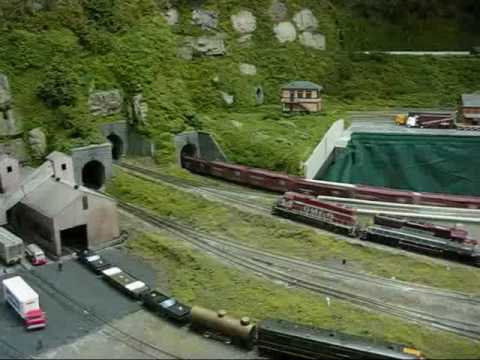 The Great HO Scale Train Race Video
