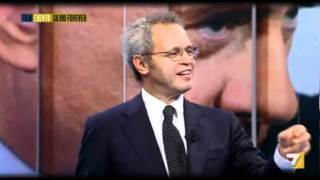 Giuliano Ferrara Vs Eugenio Scalfari su Silvio Berlusconi (8Set2011)