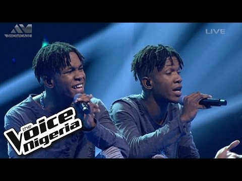 """DNA sings """"Love Yourself"""" / Live Show / The Voice Nigeria 2016"""