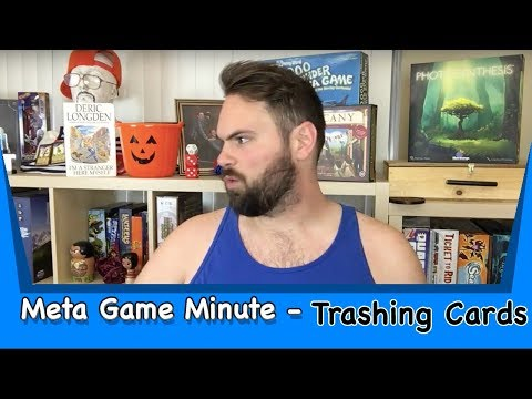 Meta Game Minute Trashing Cards