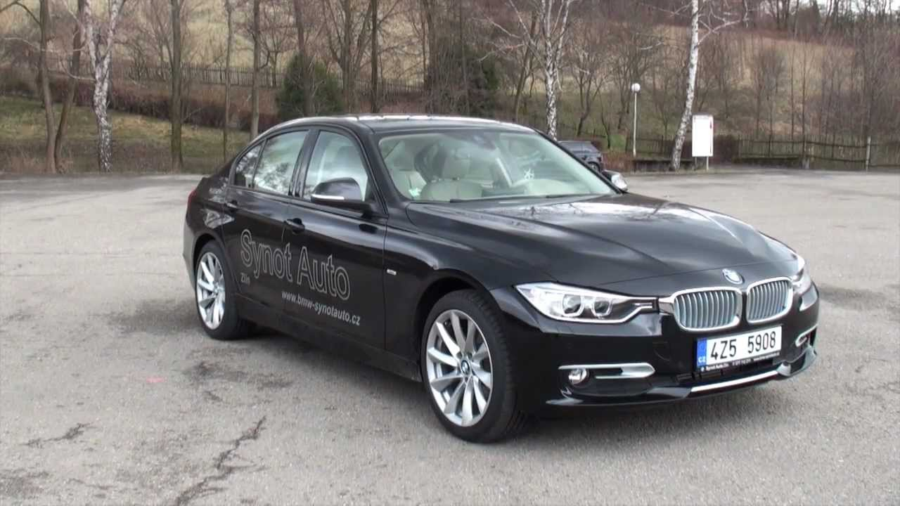 bmw 320d f30 modern line test drive youtube. Black Bedroom Furniture Sets. Home Design Ideas