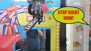 GOT CAUGHT STEALING FROM THE ARCADE!?!?!?!