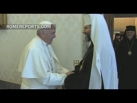 Pope listens to complaints from Ukrainian archbishop of the text he signed with Kirill