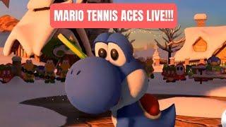 SNOWFALL MOUNTAIN PRIORITY PLAYLIST BECAUSE IT'S HOLIDAY SEASON!!! Mario Tennis Aces Stream #3