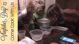 Day 25| Kids In The Kitchen | Pumpkin Bread