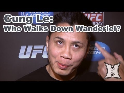 "UFC's Cung Le: ""Who Walks Down Wanderlei Silva?"""