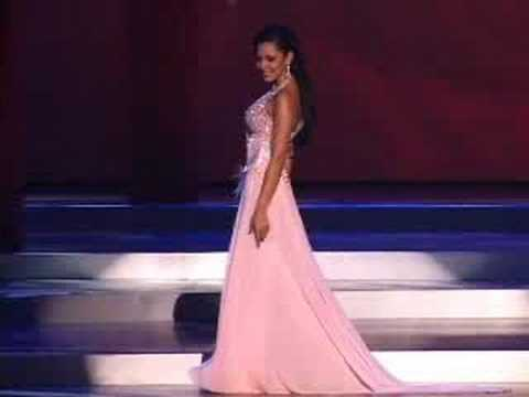 Paraguay - Miss Universe 2008 Presentation - Evening Gown