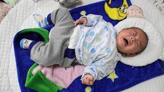 甘え泣きを覚えた赤ちゃん・生後三か月