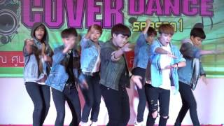 160326 JUST cover BTS - DOPE + Boyz with Fun @Mega Plaza Cover Dance (Final)