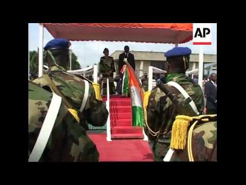 Liberian President-elect arrives in Ivory Coast on first foreign trip
