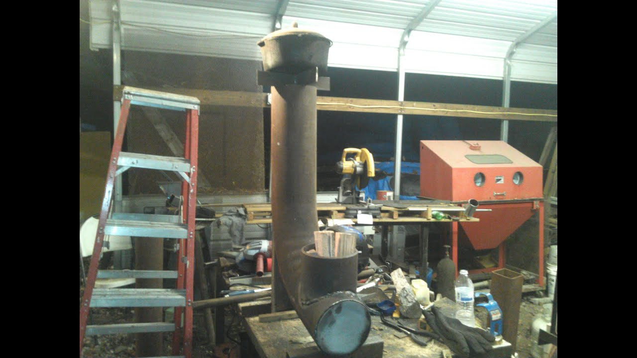 extended burn time large rocket stove for cooking 6