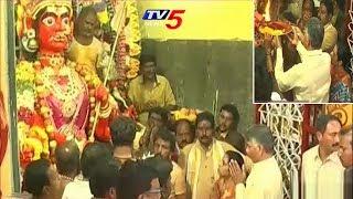 Chandrababu Offers Special Prayers at Kuppam Gangamma Temple