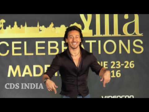 Watch Tiger Shroff Stunts And Dance At IIFA Awards 2016 Press Release