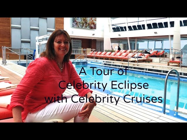 A tour of Celebrity Eclipse with Celebrity Cruises