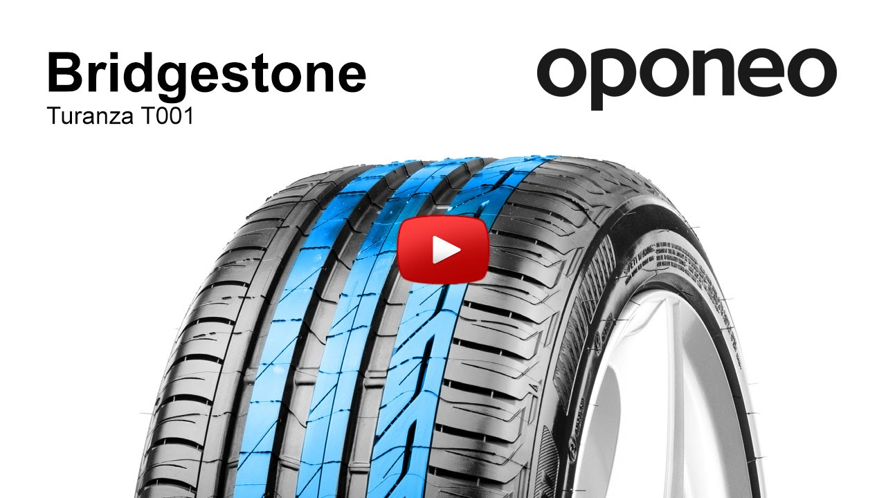 bridgestone turanza t001 summer tyres oponeo youtube. Black Bedroom Furniture Sets. Home Design Ideas