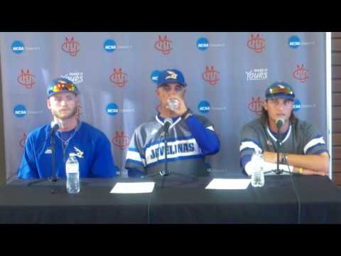 Kingsville Baseball Post Game 1