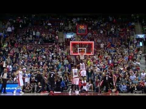 Top 10 NBA Buzzer Beaters/Game Winners: November 2013