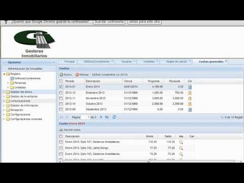 Software para la Administración de Edificios(SGE)
