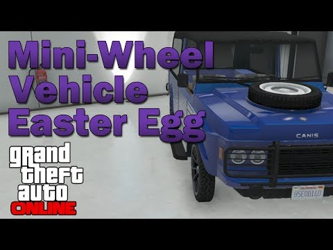 Mini-Wheeled Vehicle Easter Egg in GTA Online! (Canis Kalahari)